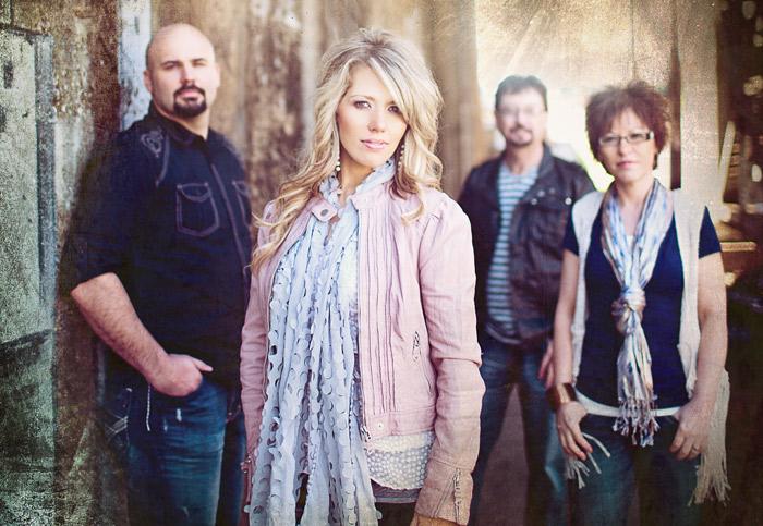 Mike Hymes, Cassie Shaffer-Hymes, Dave Shaffer, and Trish Shaffer. Photo: Shaffer Band.
