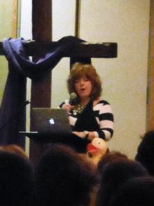 Speaker Cynthia Fralin.