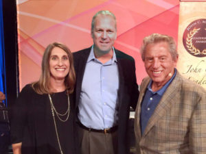 Dawn Finn, Steve Finn, and John Maxwell. Supplied photo.